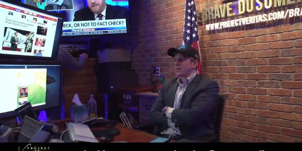 Project Veritas founder James O'Keefe has Twitter account restored, Project Veritas still suspended possibly banned