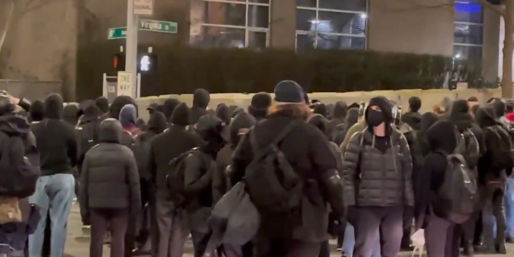 Antifa march, attack onlookers and vandalize downtown Seattle in response to officer involved shooting