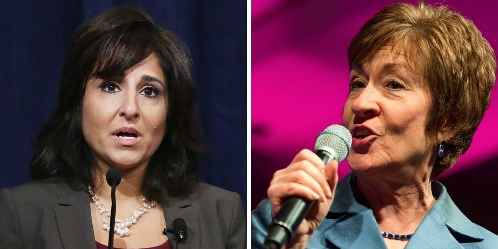 Report: Susan Collins likely to vote no on controversial Biden nominee Neera Tanden