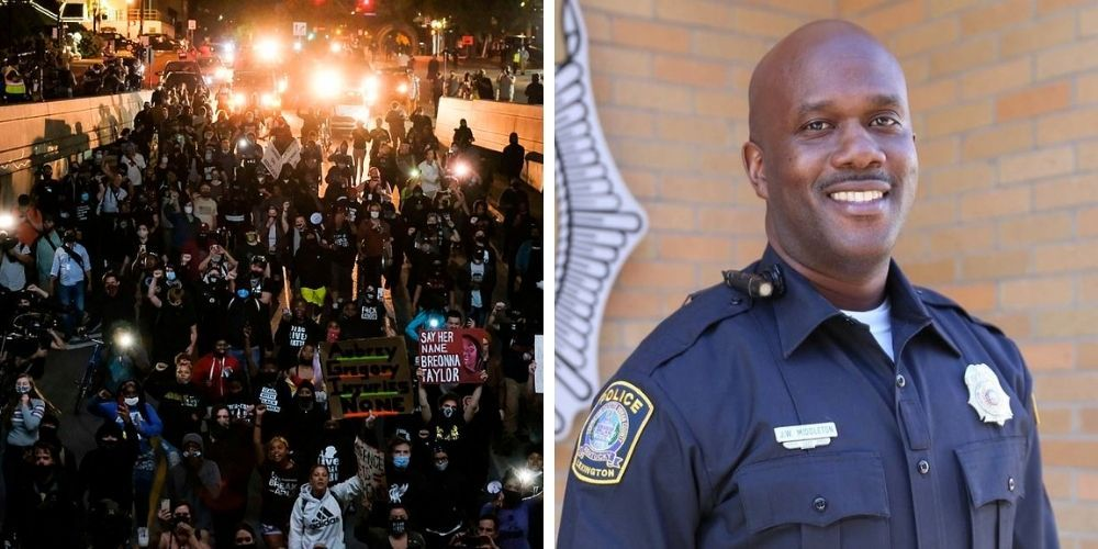 Police officer fired after leaking fellow officers' private information to Black Lives Matter activists