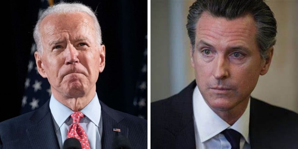 WATCH: White House press sec says that Biden administration opposes the recall election of Gov. Gavin Newsom, which 1.4 million Californians support