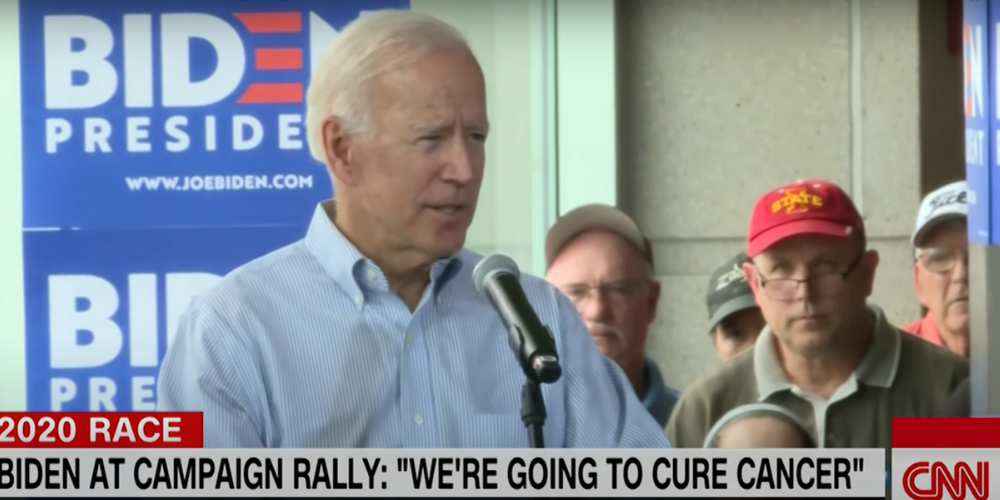 Biden says after he defeats COVID-19, cancer is next on the list