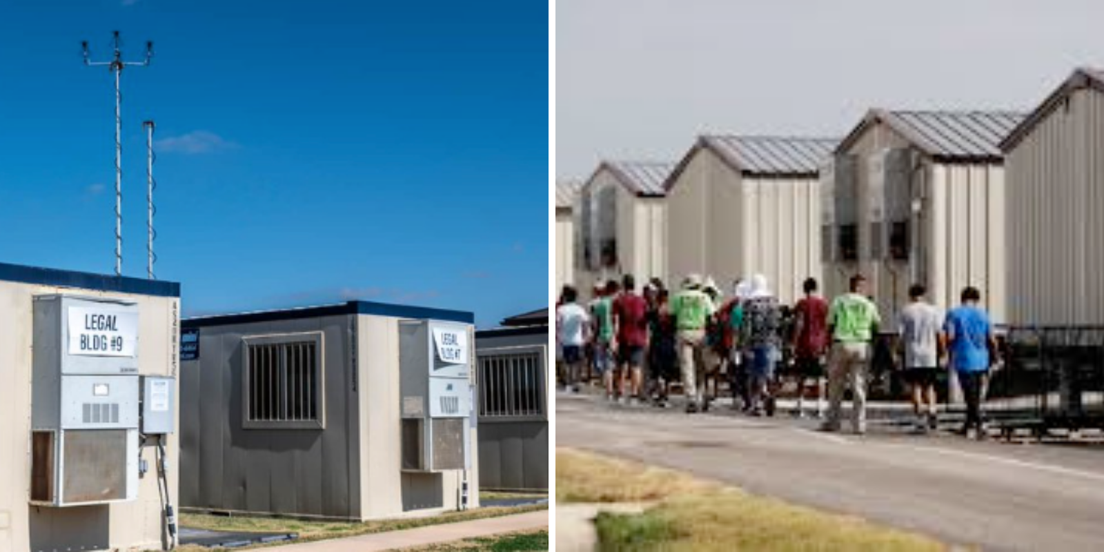 CBS refuses to show images of 'migrant facilities for children'