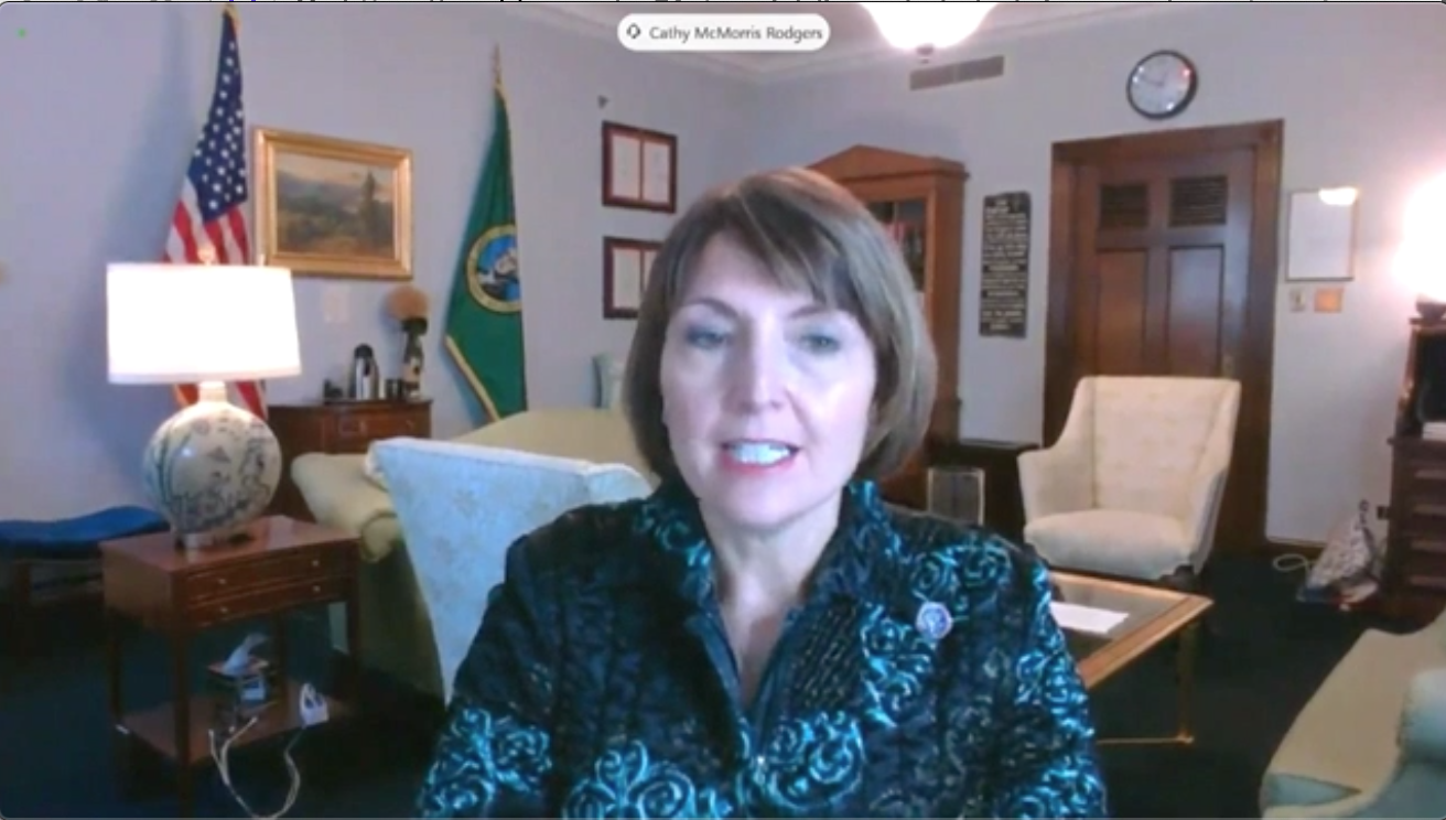 WATCH: Rep. Cathy McMorris Rodgers SLAMS Democrats' media censorship, comparing them to Communist China
