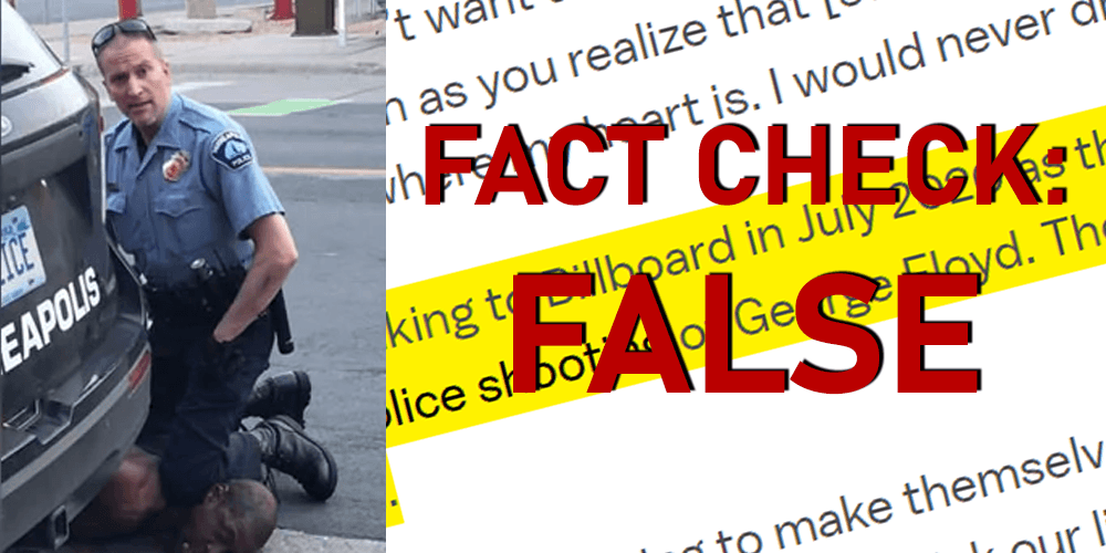 FACT CHECK: Vox falsely claims George Floyd was killed in a 'police shooting'