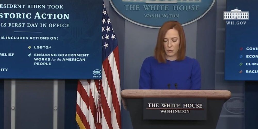 WATCH: Jen Psaki says Biden administration is working with tech giants to censor Americans