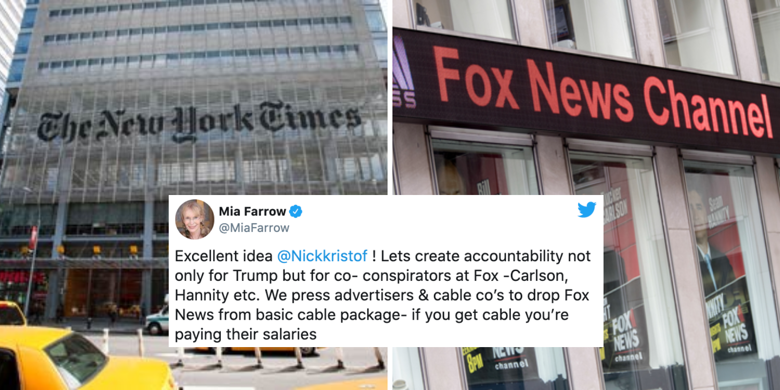 WITCH HUNT: The New York Times wants to put Fox News on trial