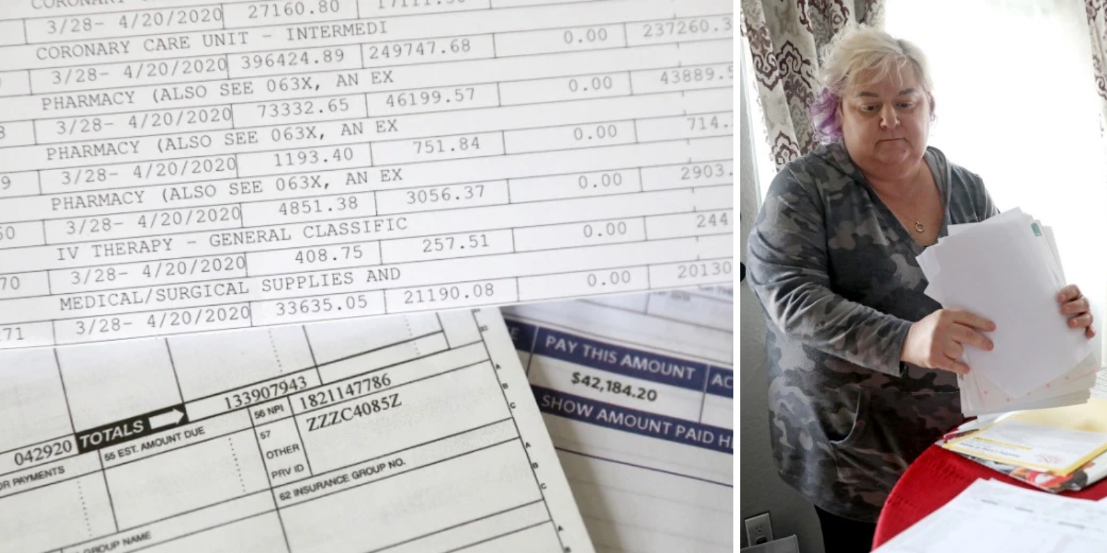 Woman faces over $1.3 million in medical bills after being hospitalized with coronavirus