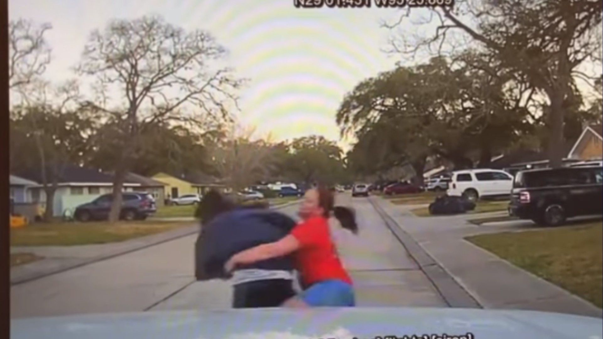 WATCH: Texas mom tackles man allegedly peeping into 15-year-old daughter's bedroom window