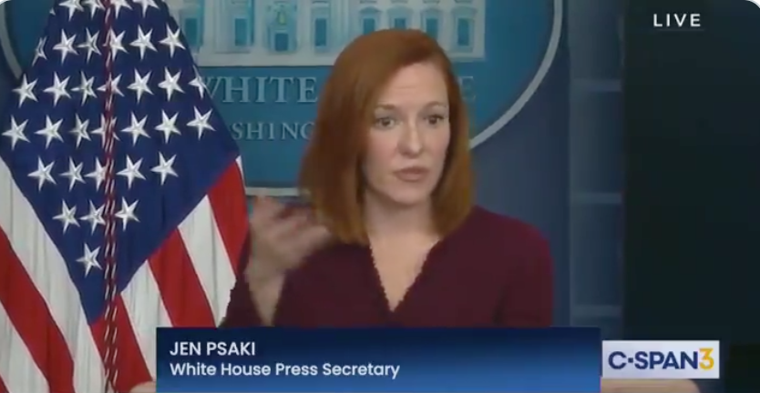 WATCH: White House press sec dodges question on Biden's EO allowing biological males to compete in girls' sports
