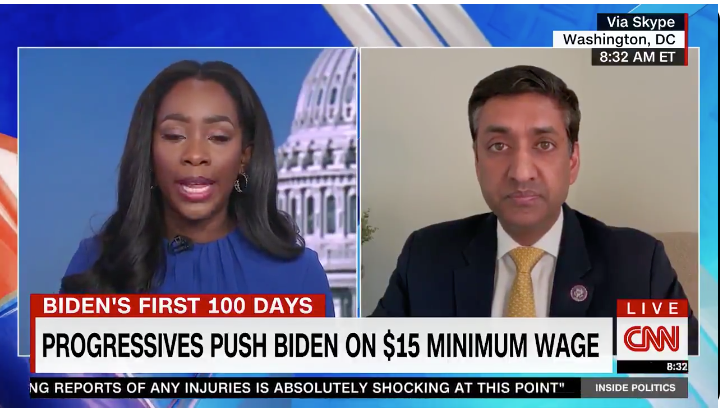 WATCH: Dem Rep admits he doesn't care about independent small businesses