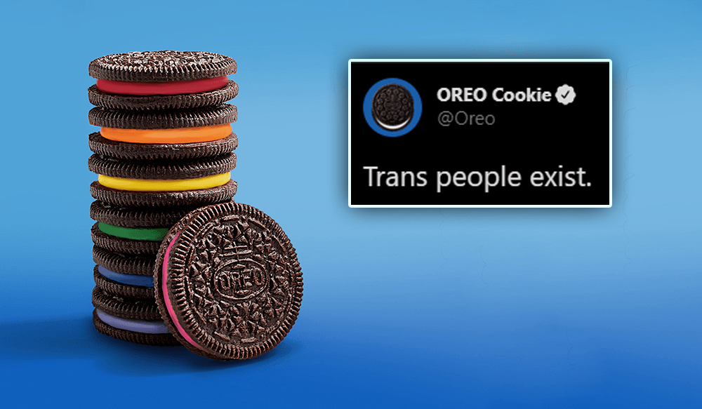 Official Oreo Twitter account roasted after tweeting trans activism message