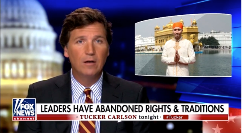 WATCH: Tucker Carlson slams Canada's draconian lockdowns and Trudeau's illiberal authoritarian government