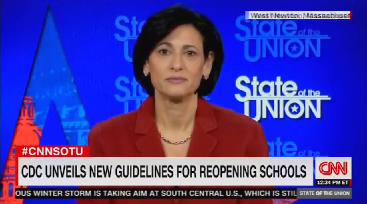 WATCH: CDC reverses course on school openings, sides with teachers unions over science