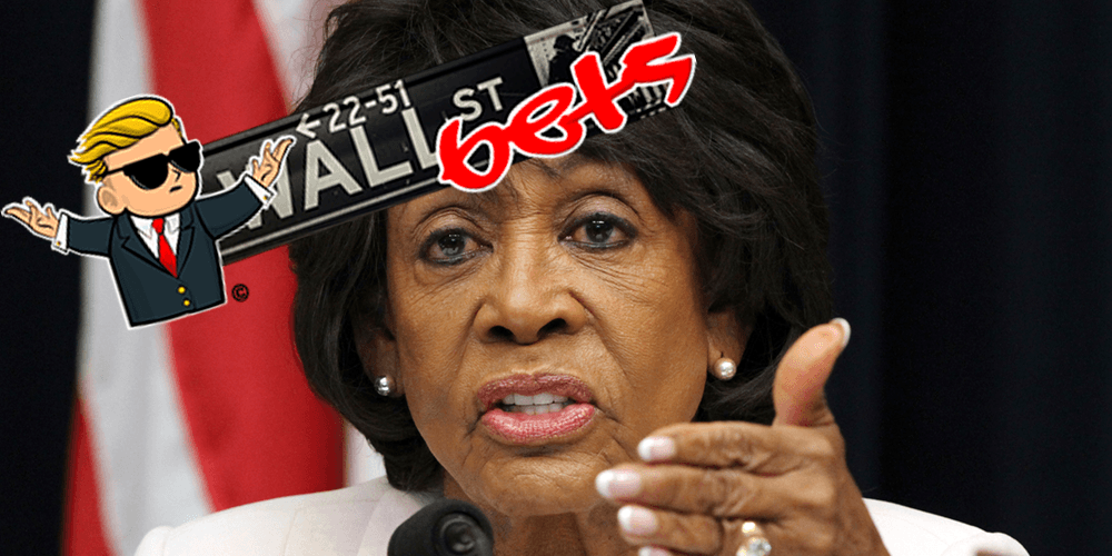 Maxine Waters attacks the little people on Reddit, says Congress will investigate WallStreetBets