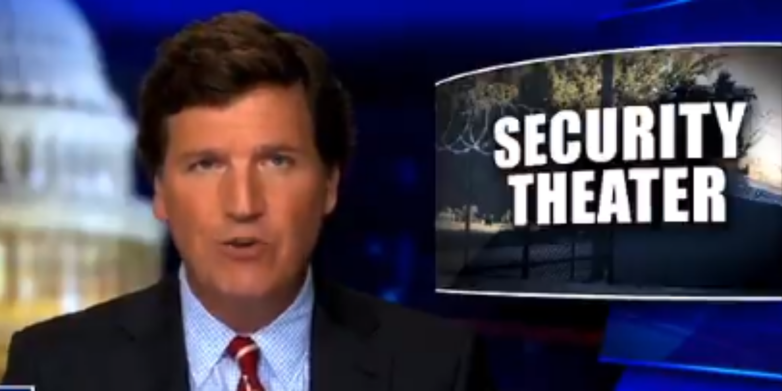 WATCH: Tucker Carlson talks about how street crime rises while congress hides behind their fences