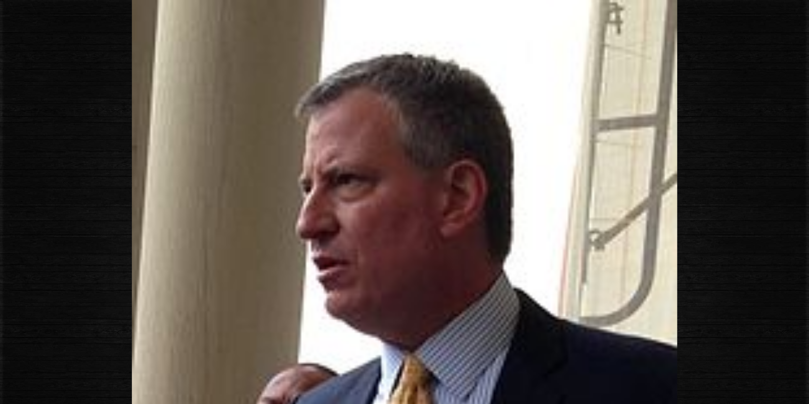 WATCH: De Blasio threatens to send NYPD to warn people after 'hurtful' comments