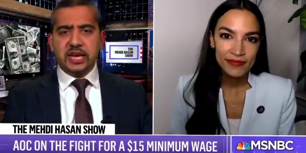 Amid bitter $15 minimum wage war from Democrats, AOC demands a hike up to $24