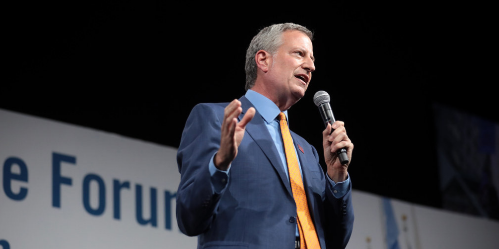 Mayor de Blasio eyes fall reopening for Broadway theaters