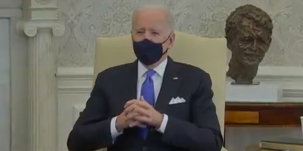 WATCH: Biden calls Texas and Mississippi opening up their states, rejecting mask mandates 'Neanderthal thinking'