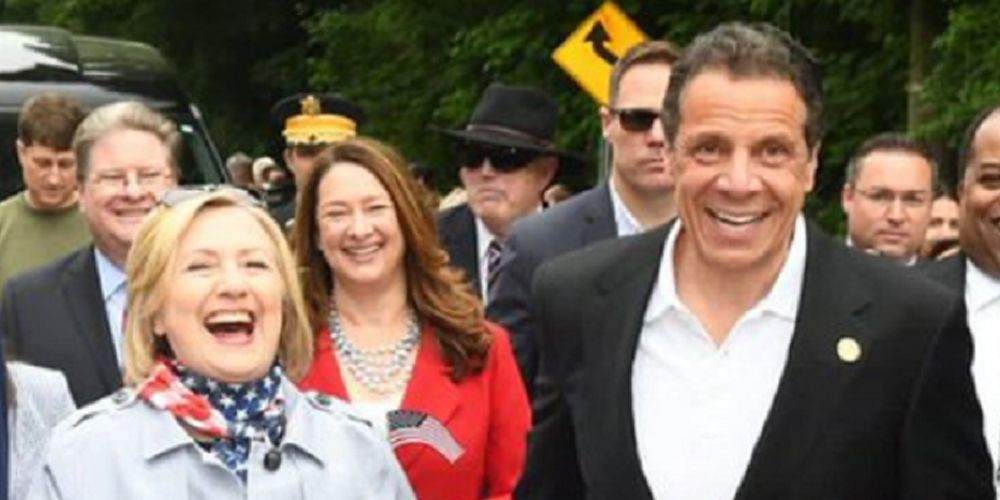 Hillary Clinton backs sexual harassment investigation into Andrew Cuomo