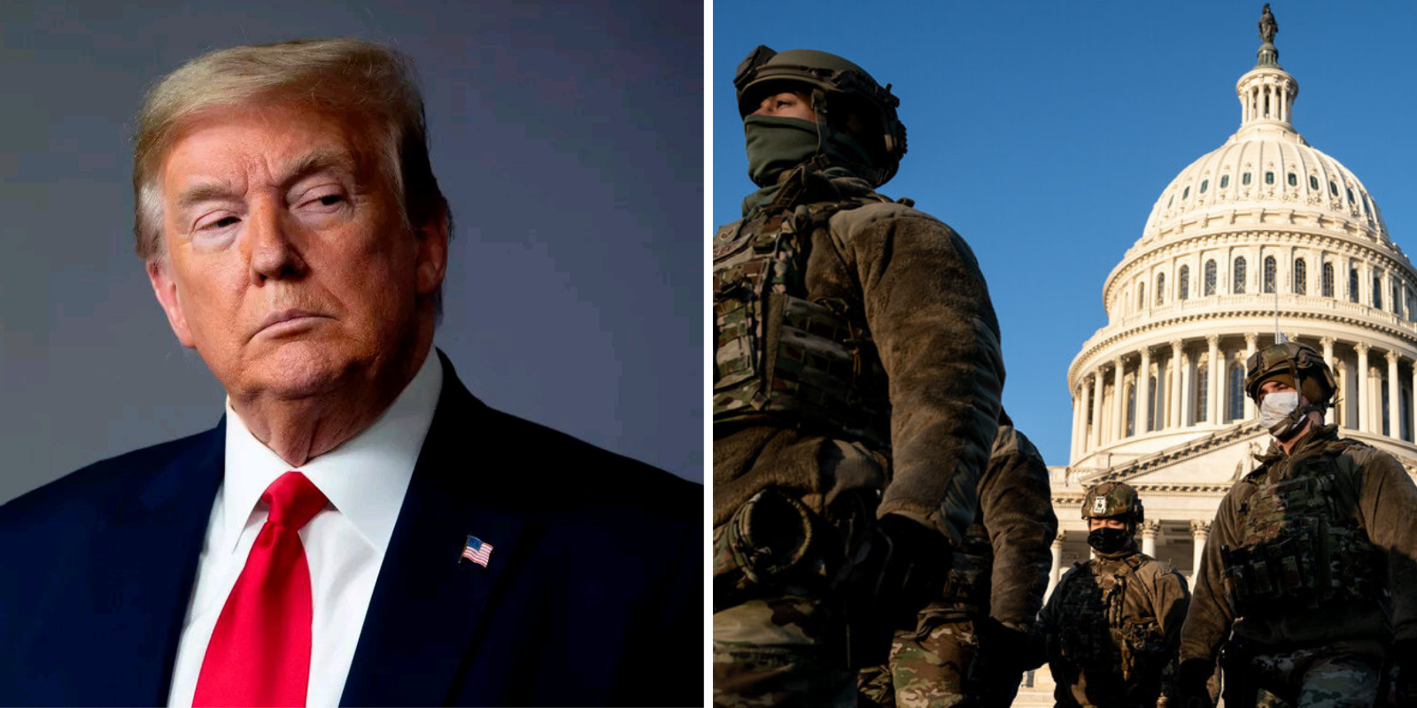 Trump pushed to deploy National Guard while Army officials were concerned about 'optics'