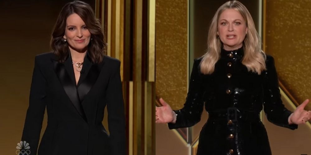 Tina Fey and Amy Poehler slam HFPA for lack of diversity during Golden Globes, fail to mention Cuomo or 'Me Too'