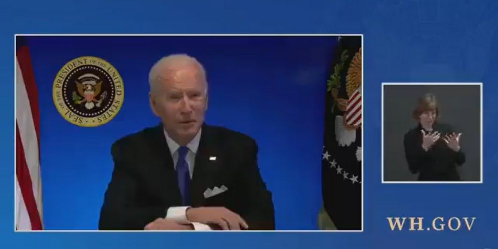 WATCH: White House cuts live feed after Biden says he's 'happy to take questions'