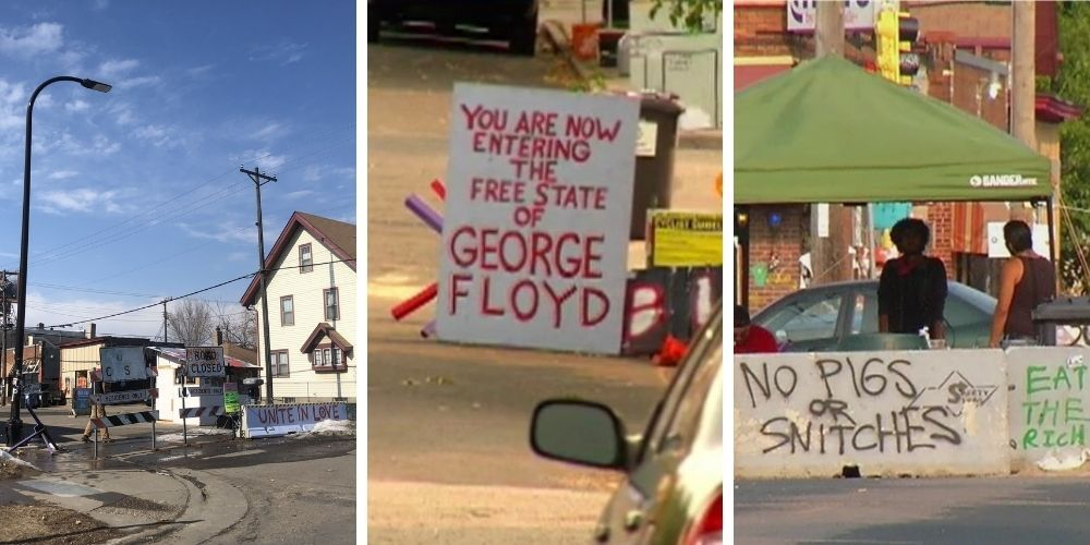 Shooting near George Floyd 'autonomous zone' in Minneapolis on the eve of Chauvin trial