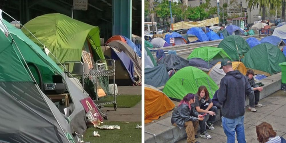 REVEALED: San Franciso pays $61,000 a year per tent to shelter homeless at city sites