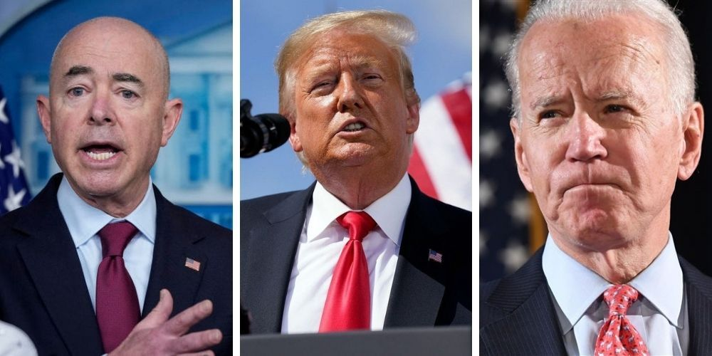 Trump releases statement slamming Biden and Mayorkas over border crisis, 'they are causing death and human tragedy'