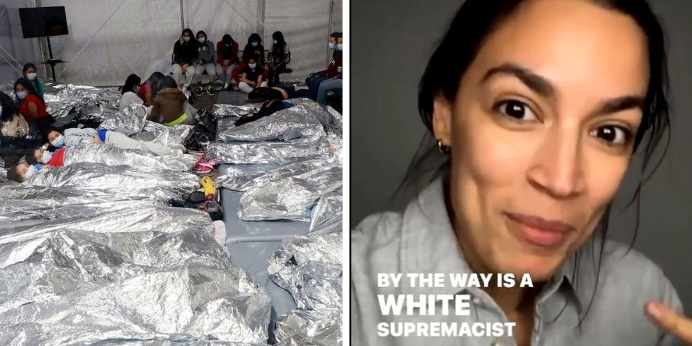AOC breaks silence on border crisis, defines the word 'invasion' as a white supremacist idea