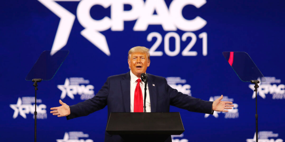Trump asks supporters to donate to his PAC, 'no more money for RINOs'