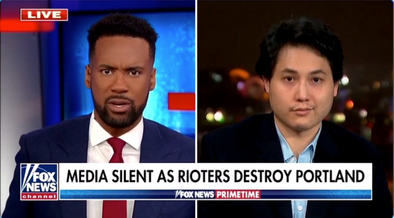WATCH: Andy Ngo says Antifa wants to strain police resources until they break