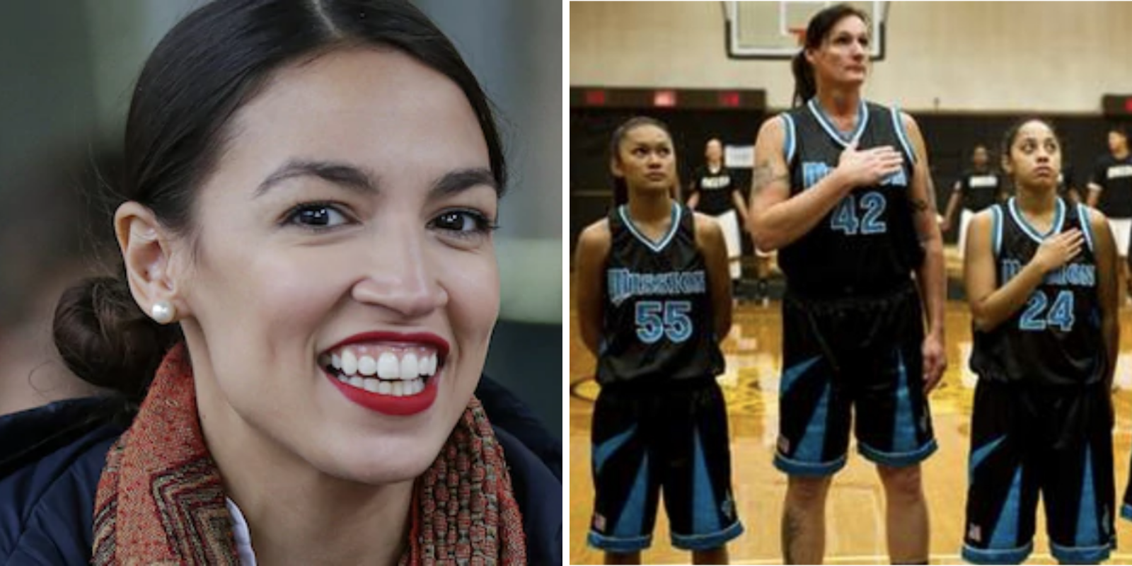 AOC claims 'trans kids are awesome' as she advocates for allowing biological males in young girls' sports
