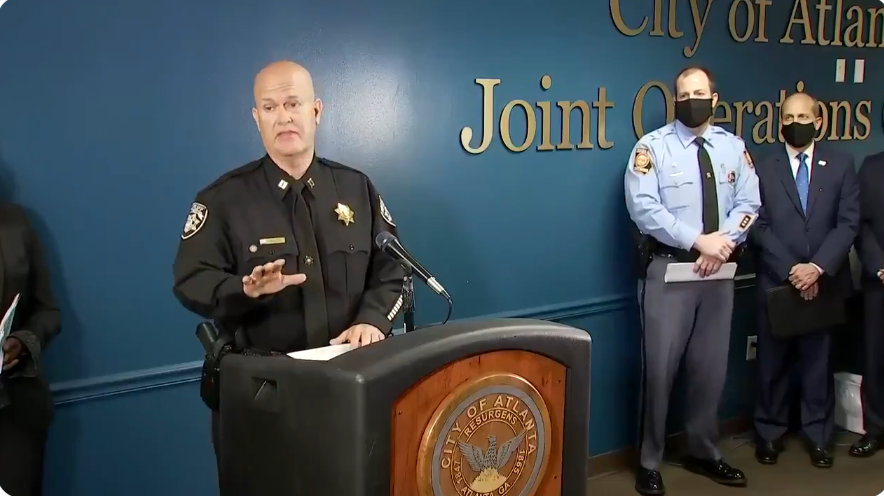 Media tries to paint Georgia Sheriff's spokesman as 'racist' after spa shooting press conference