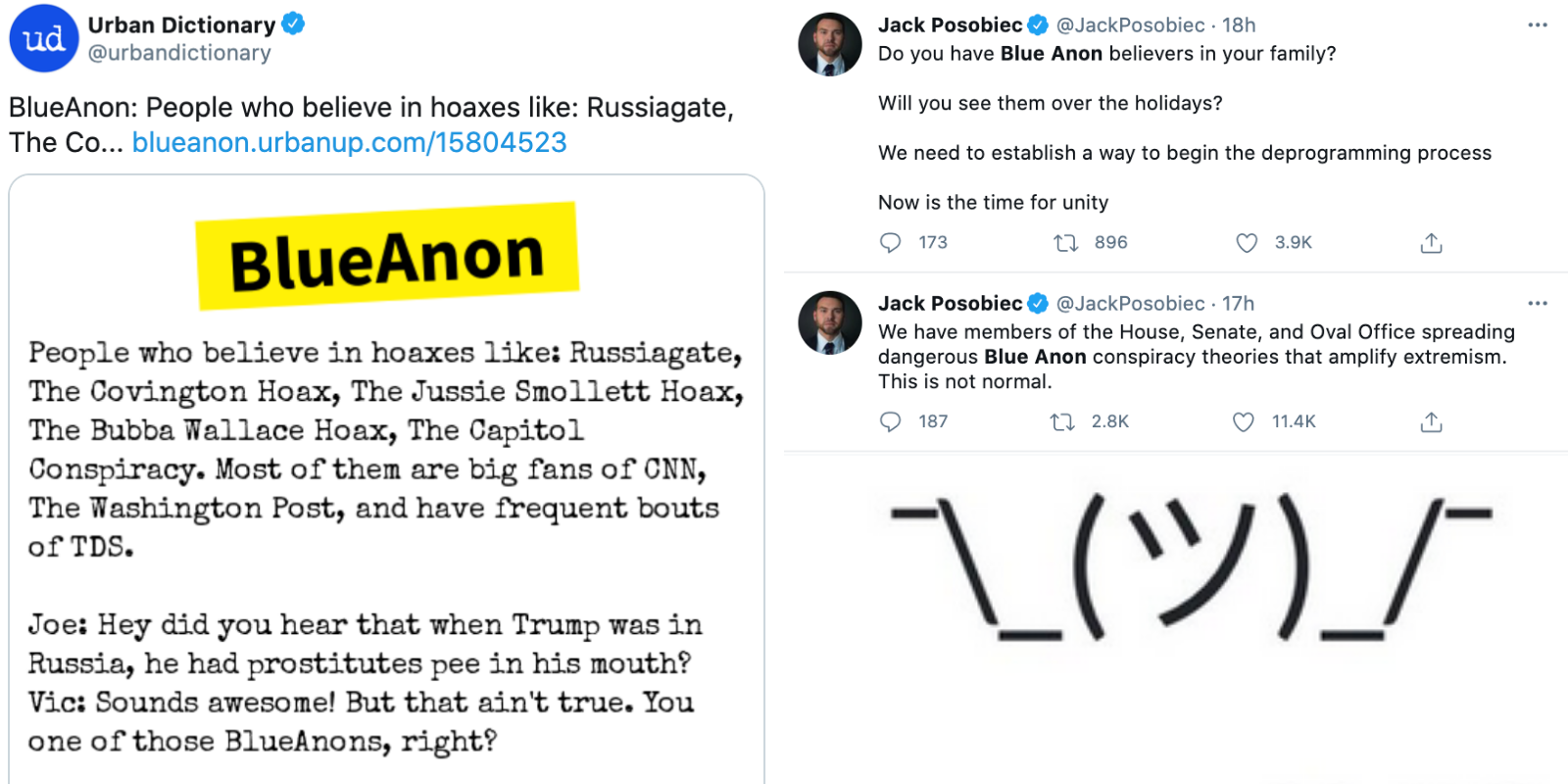 CULTURE WAR VICTORY: Urban Dictionary restores 'Blue Anon' entry after backlash to censorship