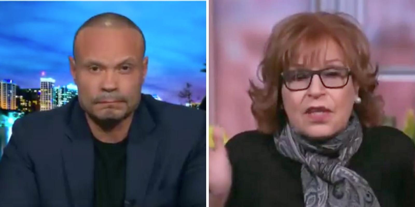 WATCH: Dan Bongino slams Joy Behar after she claims Antifa is 'fictitious' and 'doesn't even exist'