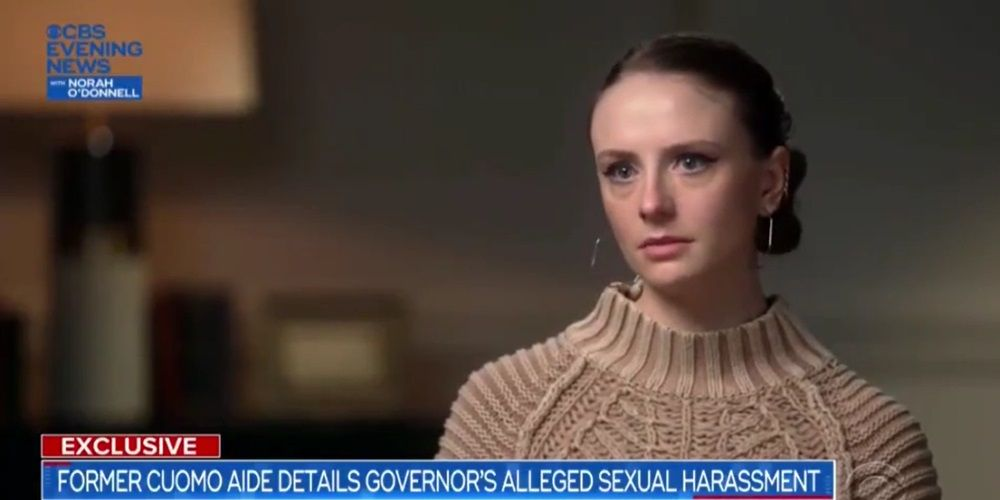 WATCH: Cuomo sexual harassment accuser speaks out in interview