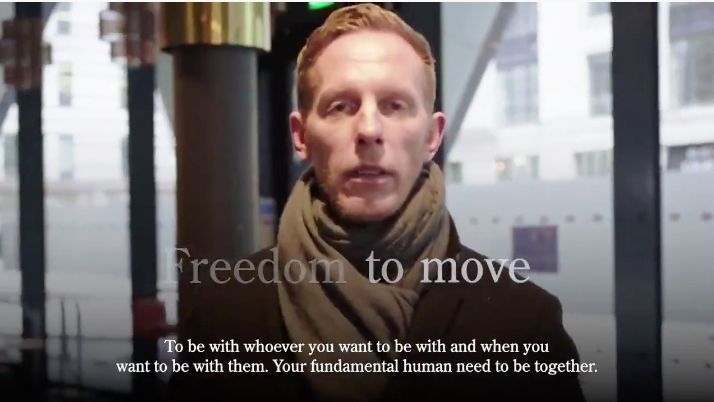 Actor Laurence Fox runs for Mayor of London on Reclaim Party ticket