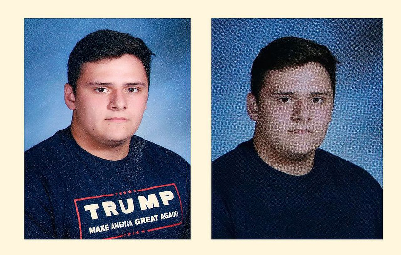 New Jersey teacher blamed for altering student's Trump yearbook photo gets $325K settlement