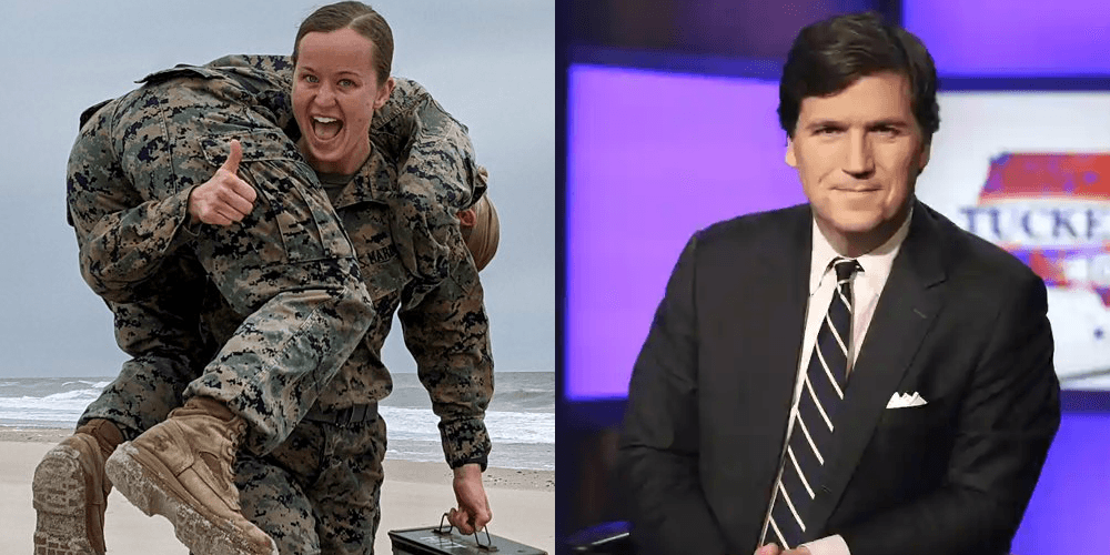 The US Marines attack Tucker Carlson, critics, forced to walk back comments with apologies