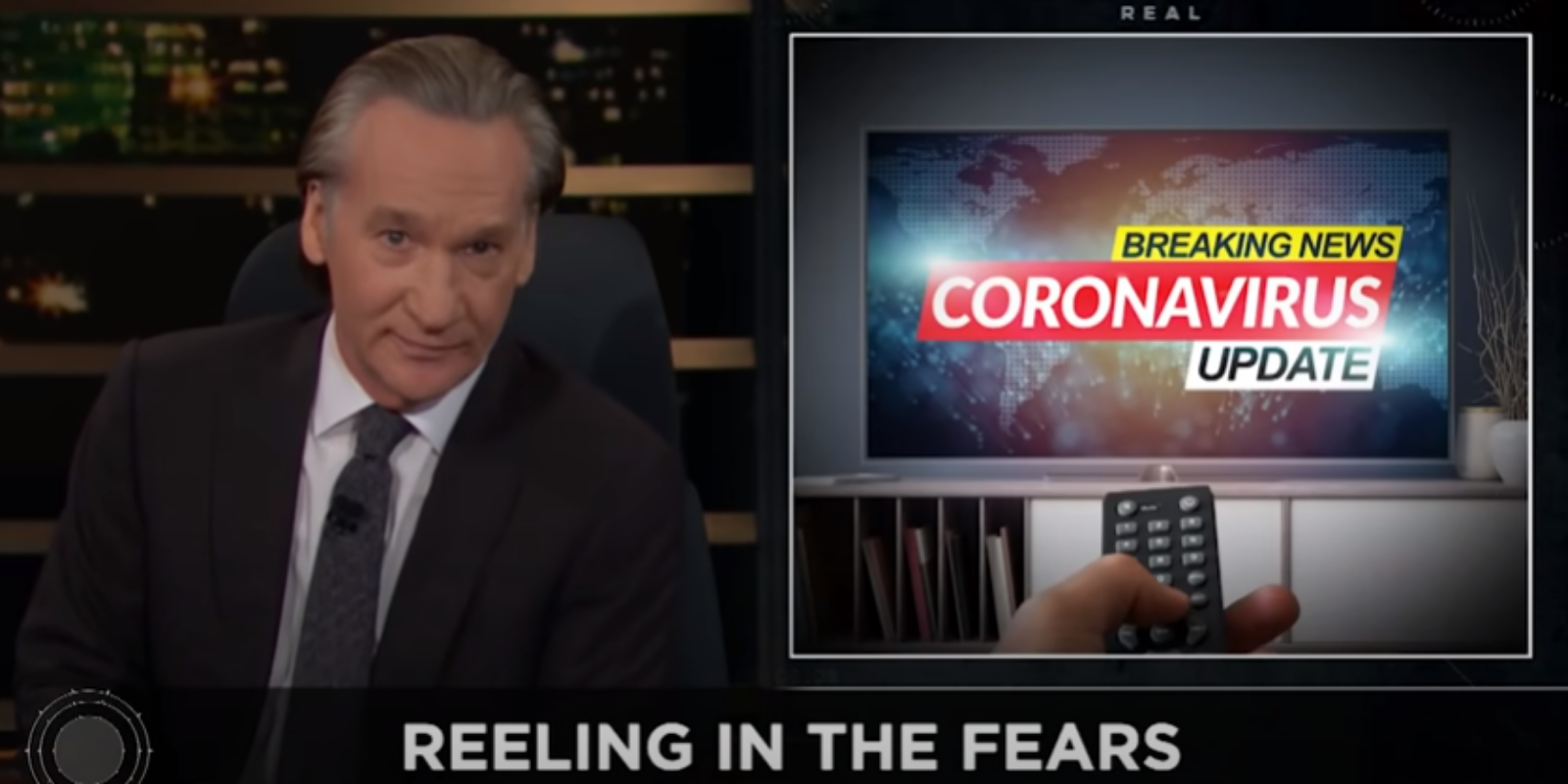 WATCH: Bill Maher RIPS into COVID 'fear porn' on his show