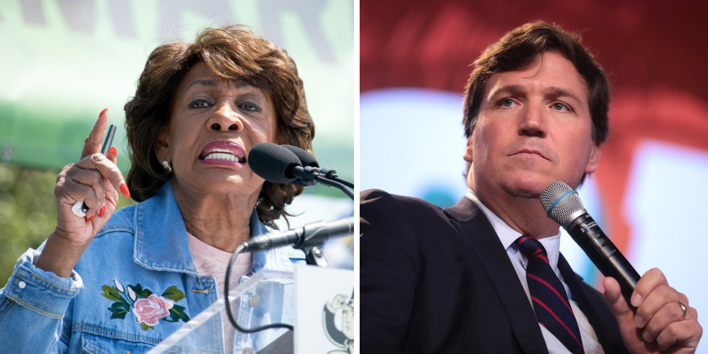 WATCH: Tucker Carlson slams Maxine Waters for inciting mob violence multiple times over the years