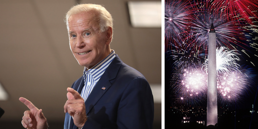 Fourth of July celebrations may be 'canceled' due to Americans' reluctance to get COVID-19 vaccine, says Biden