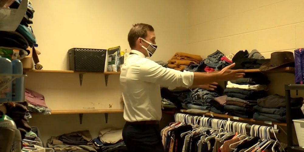 Pennsylvania school develops 'comfort closet' to help students get through the day