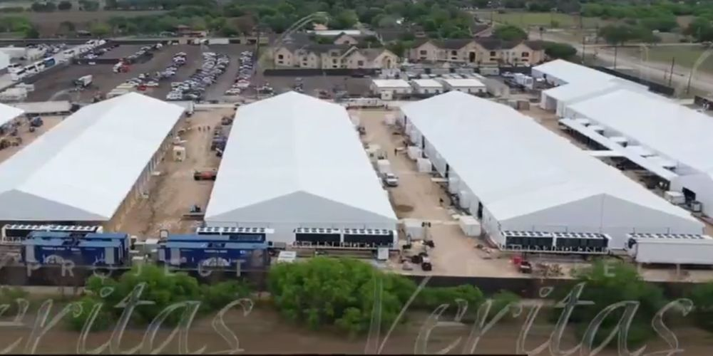Texas migrant detention facility EXPANDS in size in under two weeks