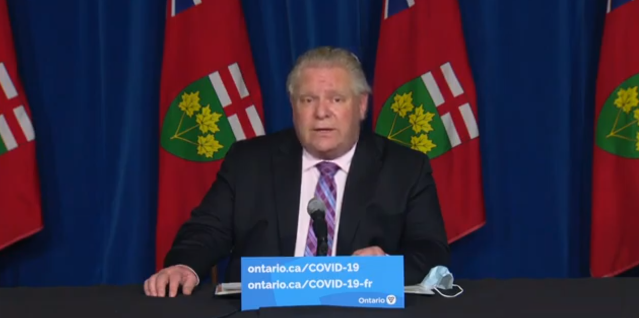 Reject Doug Ford's police state