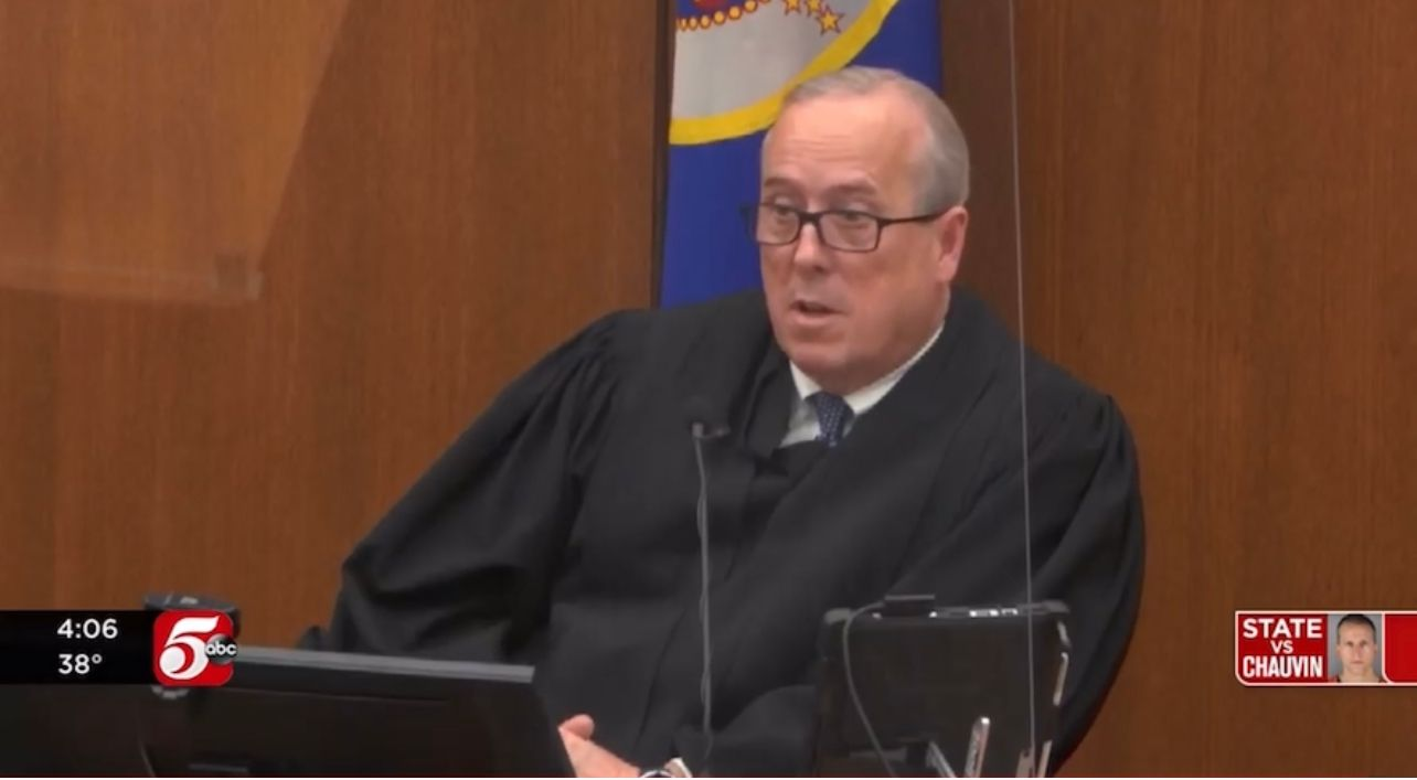 BREAKING: Judge in Chauvin trial says Maxine Waters' comments 'may result in this whole trial being overturned'