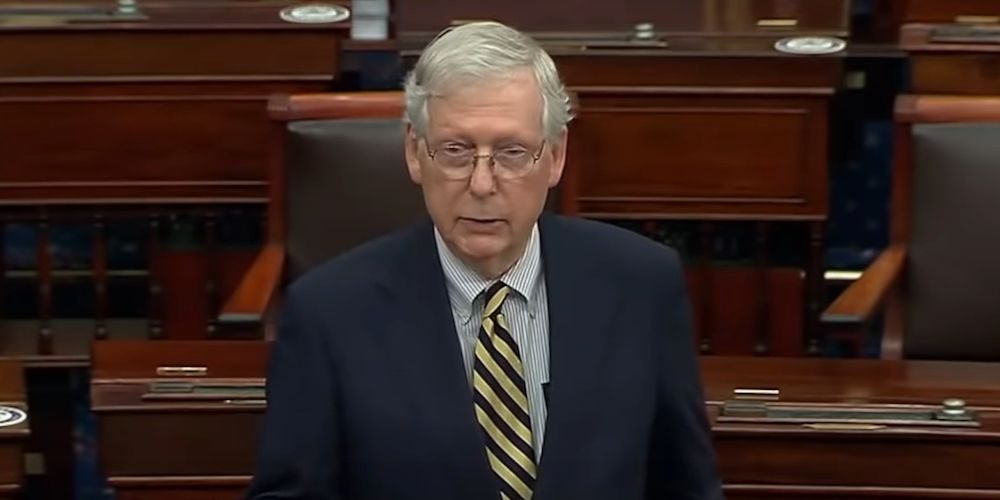 McConnell bashes Biden's decision to 'study' packing the Supreme Court
